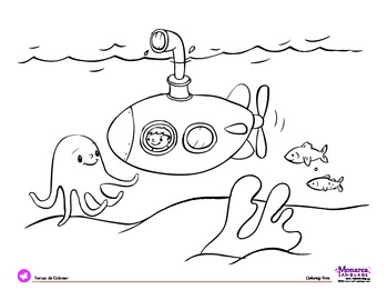 water themed coloring pages - photo#38