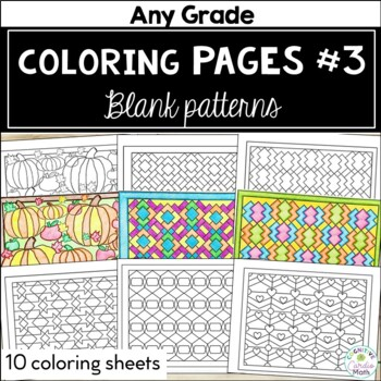 Coloring Pages #3