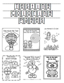 Growth Mindset and Testing Coloring Pages Bundle