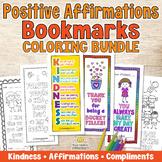 POSITIVE AFFIRMATIONS BOOKMARKS Bundle - Compliments & Kin