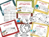 Coloring Pages Bundle - Earth Science