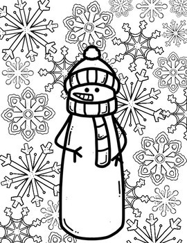 Coloring Pages: Christmas Joy