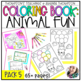 Coloring Pages | Coloring Sheets | Animal Coloring Book