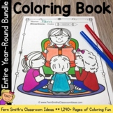 Coloring Pages For An Entire Year DISCOUNTED Bundle! Print
