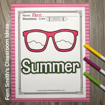 Four Seasons Coloring Pages
