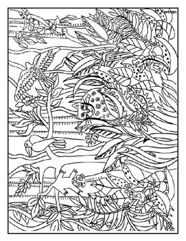 Coloring Pages: From Dinosaurs to Still Life Printable's - Art Lesson