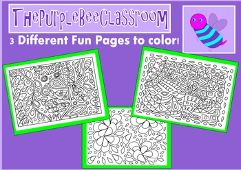 Coloring Pages Funky Shapes Coloring Pages Set 2