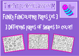 Coloring Pages Funky Shapes Coloring Pages Set 3