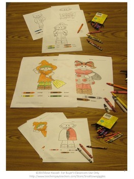 Color by Number Math,Color by Number Halloween, Special Education Math