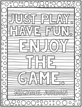 Inspirational Quotes Coloring Pages - 20 Fun, Creative Designs!