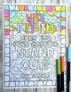Growth Mindset Coloring Pages | Inspirational Quotes | 20 Fun, Creative Designs