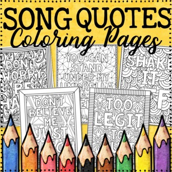 Growth Mindset Coloring Pages Song Quotes 20 Fun Creative Designs