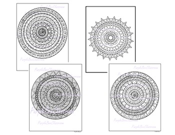 coloring pages mandala coloring pages set1