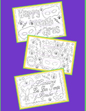 Coloring Pages-Mardi Gras Coloring Pages-Set #1