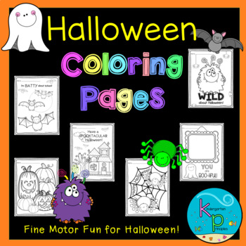Coloring Pages Pack (Halloween Themed)