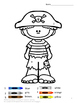 Coloring Pages-Pirates