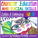 Social Skills BUNDLE  - Coloring Pages and Letters