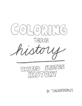 Coloring Pages - United States History