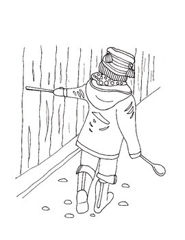 Coloring Pages for K-3 Outdoor Science