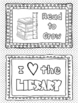 Coloring Pages for Library Centers: Reading Motivation FREE