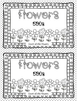 Coloring Pages for Library Centers: Dewey Theme