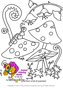 Coloring Pages of Animals and Woodland Animals - Vol. 2