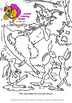 Coloring Pages of Animals and Woodland Animals - Vol. 4