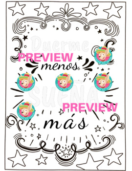 Coloring Pages with Motivational Phrases (en español!)