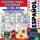Coloring Posters in Spanish - Independence Day - July 4th