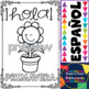 Coloring Posters in Spanish - Spring (20 posters)