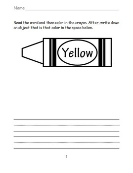Coloring Prompt Printables FREEBIE