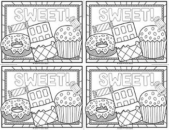 Classroom Coupons for Coloring - 30 Fun, Creative Designs!
