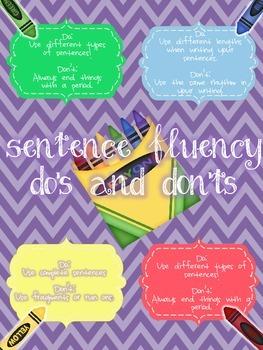 Coloring & Sentence Fluency