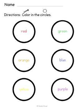 Coloring Shapes for Beginners