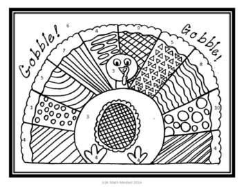 Coloring Sheet Transformations Thanksgiving Themed