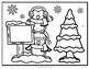Coloring Sheet  Winter Theme Constant Rate of Change