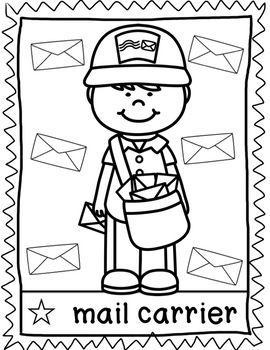 Coloring Sheets Community Helpers by Kraus in the ...