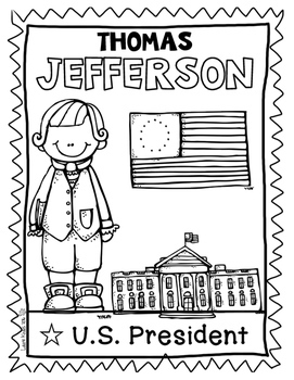 Coloring Sheets Famous Americans in U.S. History