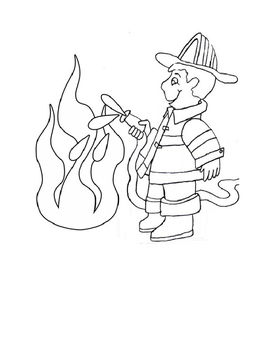 Coloring Sheets for My Community