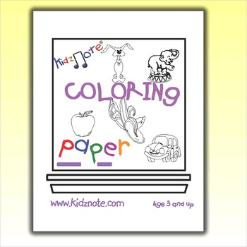 Coloring Sheets with Color Coded Traceable Alphabet Letters by Kidznote