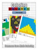 Coloring Squared: First Grade