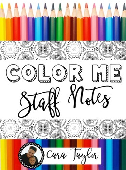 Coloring Staff Notes