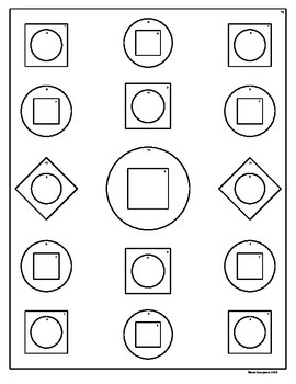 Coloring Activity Template (any Subject) for Personal use only #4