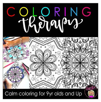 Coloring Pages Coloring Book Adults Children Stock Vector (Royalty ... | 350x349