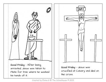 Coloring Through Holy Week Booklet