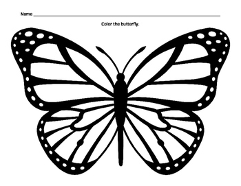 Coloring a Butterfly