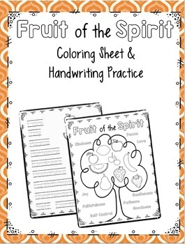 Coloring and Handwriting Practice BUNDLE!