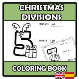 Coloring book - Christmas Divisions - Divisiones de Navidad
