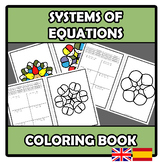 Coloring book - Mandalas - Systems of equations - Sistemas