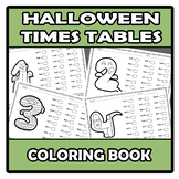 Coloring book - Times tables (Halloween)